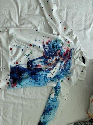 Jersey con capucha blanco