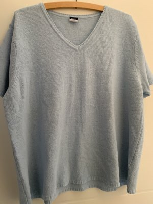 Basic Concept V-hals shirt leigrijs