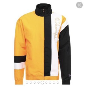 Champion Sports Jacket black-orange