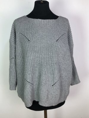 Choies Knitted Sweater grey