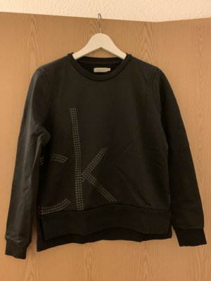 Calvin Klein Jeans Pull long noir coton