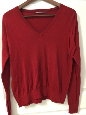 Comptoir des Cotonniers Knitted Sweater dark red
