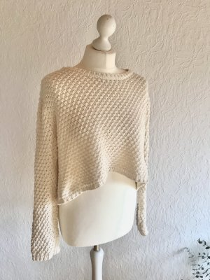 Urban Outfitters Crochet Sweater cream