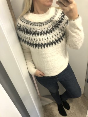 Pullover cremeweiss Gr. 36 S
