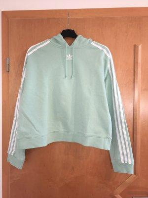 Adidas Capuchon sweater turkoois-munt
