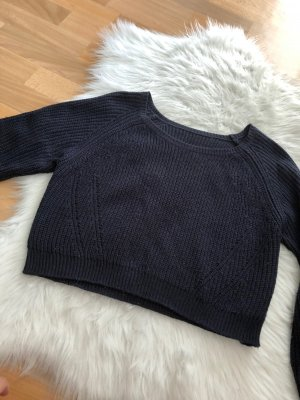 Pullover, cropped / kurz