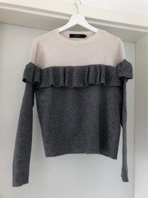 Vero Moda Knitted Sweater natural white-grey