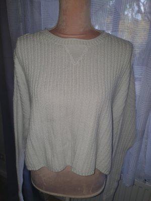 Hollister Oversized Sweater white