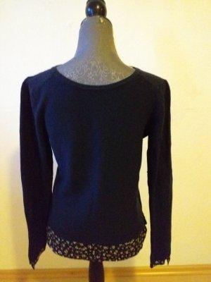 Camaieu Crewneck Sweater blue-dark blue