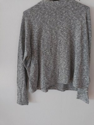 H&M Divided Knitted Sweater white-light grey