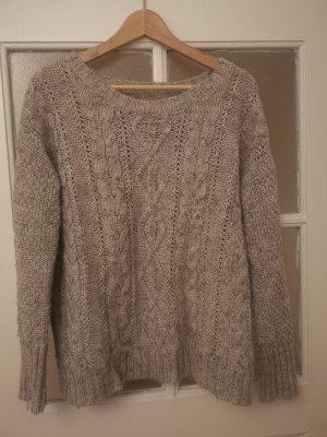 Aphorism Jersey de lana marrón grisáceo Algodón