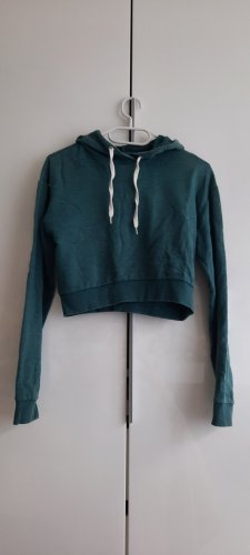 H&M Divided Hooded Sweater white-cadet blue