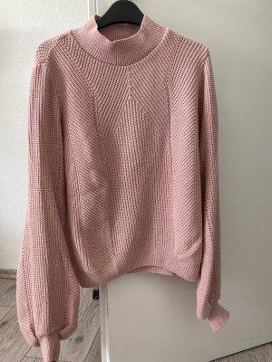 Primark Szydełkowany sweter różowy-jasny różowy