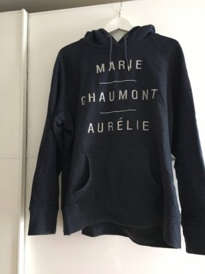H&M L.O.G.G. Capuchon sweater donkerblauw-room