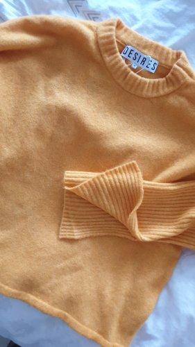 Pullover Desires neu mit Etikett gelb senf M 38
