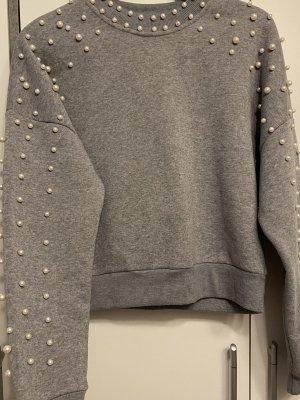 Cherry Koko Kimono sweater zilver
