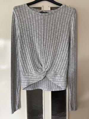 Primark Blouse à carreaux gris clair