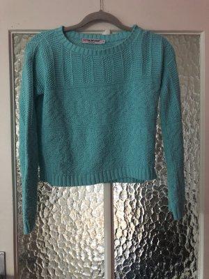 Pullover dünn leicht cropped