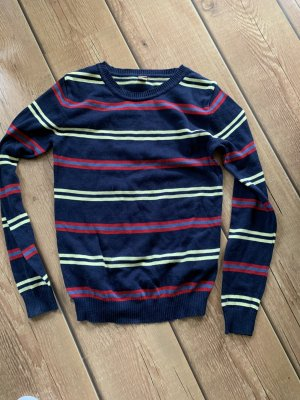 AJC Fine Knit Jumper dark blue
