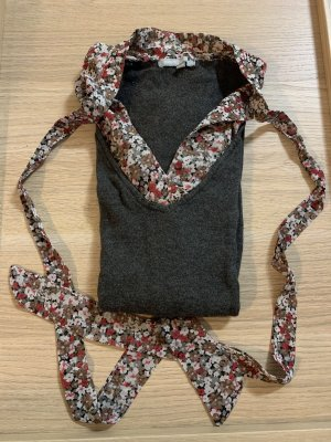 3 Suisses V-Neck Sweater dark grey