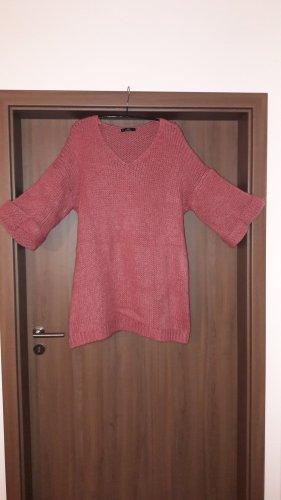 Jersey de punto grueso rosa claro