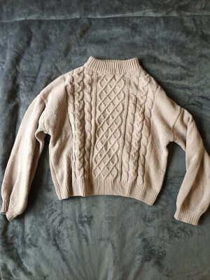 Clockhouse Cable Sweater rose-gold-coloured