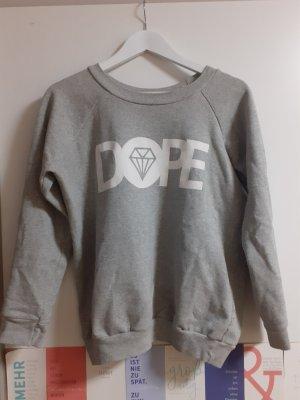 Dope Crewneck Sweater white-light grey