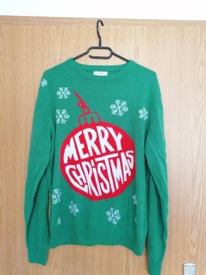 Christmasjumper green