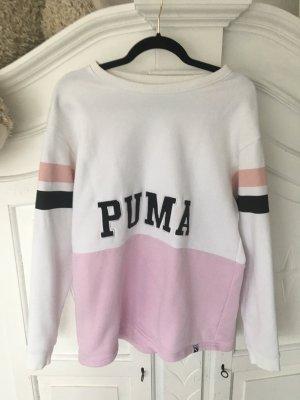 Puma Pull long blanc-rose clair
