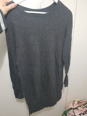 Vestido tipo jersey gris oscuro