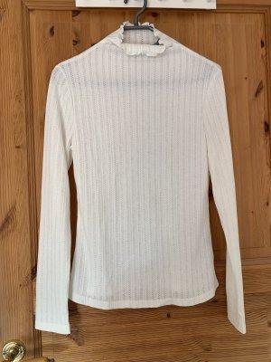 Sheinside Long Sweater white