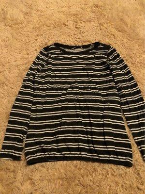 active ESSENTIALS by TCHIBO Kraagloze sweater zwart-wit