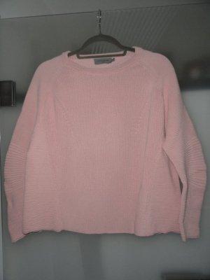 Liebeskind Kraagloze sweater lichtroze