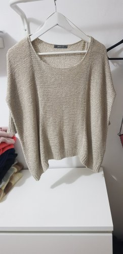 Gina Tricot Crochet Sweater oatmeal
