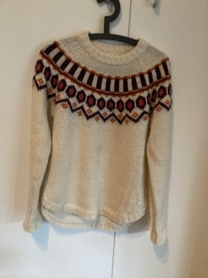 Norwegian Sweater oatmeal-beige wool