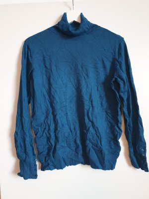 Colors of the world Turtleneck Sweater blue-steel blue