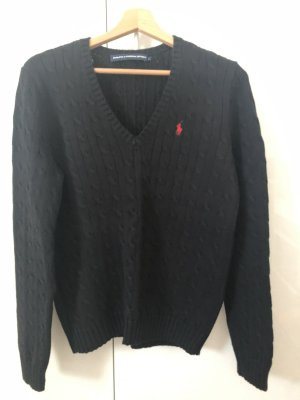 Ralph Lauren Sport Cable Sweater black