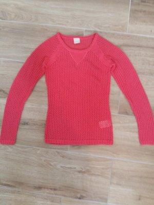 Szydełkowany sweter Wielokolorowy