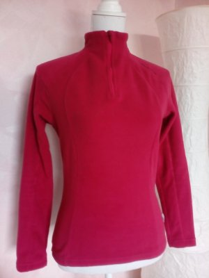 Quechua Pull polaire magenta-rouge framboise polyester