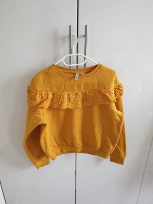 H&M Sweater Twin Set sand brown-gold orange