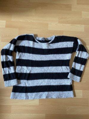 Calvin Klein Jeans Wełniany sweter czarny-szary