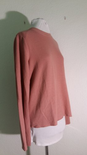 Gina Tricot Sudadera de punto fino color rosa dorado Algodón