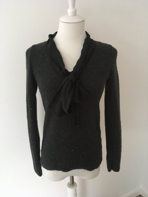 Orsay V-Neck Sweater black-anthracite