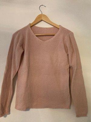Pullover glitzer rosa