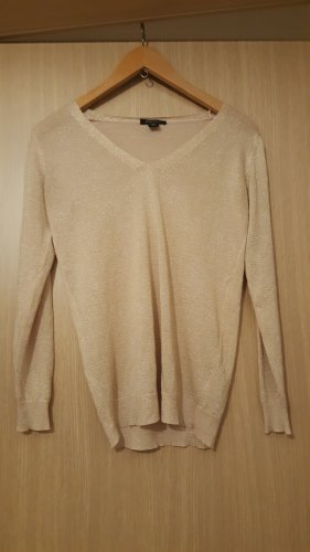 Pullover goldfarben