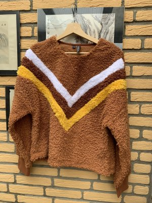 Rainbow Turtleneck Sweater multicolored