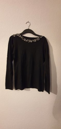 BPC Selection Premium Sweter z okrągłym dekoltem czarny