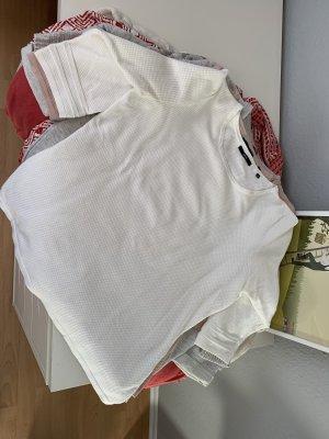 Zero Maglione a maniche corte bianco