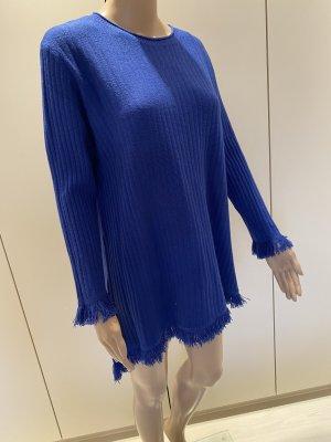 Beauty Women Sweter z okrągłym dekoltem niebieski