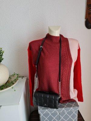 Bodyflirt Kraagloze sweater rood
